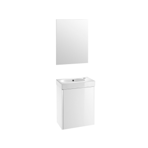 Roca Mini Vanity Pack With Mirror White 855865806