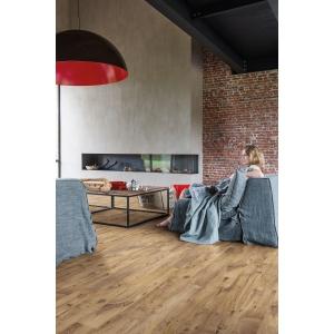 Quick Step Luxury Vinyl Tile Balanced Vintage Chestnut Natural Flooring 1251 X 187 X 4.5mm Pack Size 2.105m2