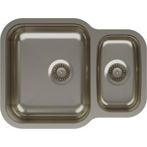 Abode Vista 1.5 Bowl Undermount Stainless Steel Kitchen Sink