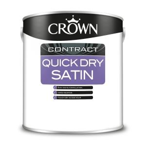 Crown Contract Crown Quick Dry Satin Brilliant White 2.5L