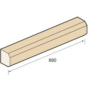 Supreme SC1/BT String Course SC1 Bath 890 x 130 x 140mm
