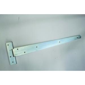 4TRADE 200mm (8 Inch) Zinc Plated Light T Hinge