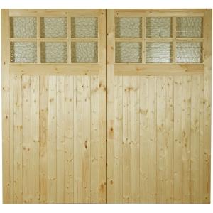 External Garage Double Door Single Glazed 2134 x 1981 x 44 Door