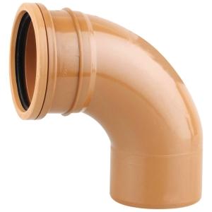 OsmaDrain Single Socket Short Radius Bend 87.5° 160mm 6D161