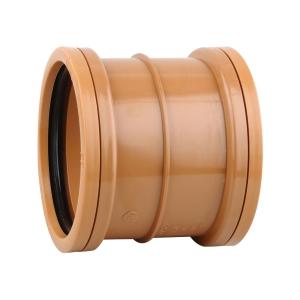 OsmaDrain Double Socket Slip Coupler 160mm 6D105