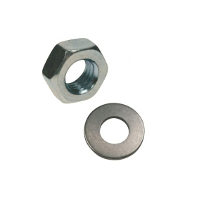 Rawl Nuts & Washers M12 Zinc Plated - Bag of 50