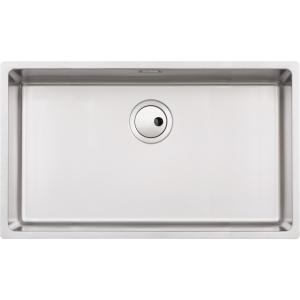 Abode Matrix R15 1 Bowl Extra Large Undermount Stainless Steel Kitchen Sink