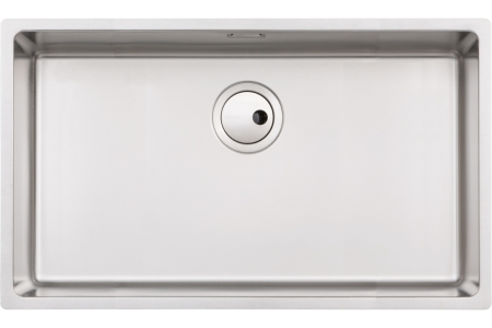 Abode Matrix R15 1 Bowl Extra Large Undermount Stainless Steel Kitchen Sink