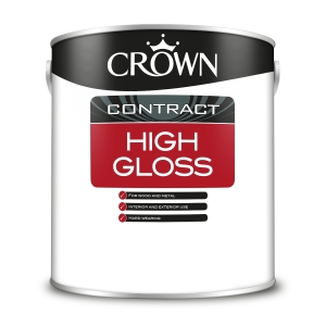 Crown Contract Crown High Gloss Black 2.5L