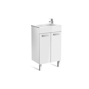 Roca Debba Compact Vanity Unit 2 Doors Gloss White 500mm A855900806