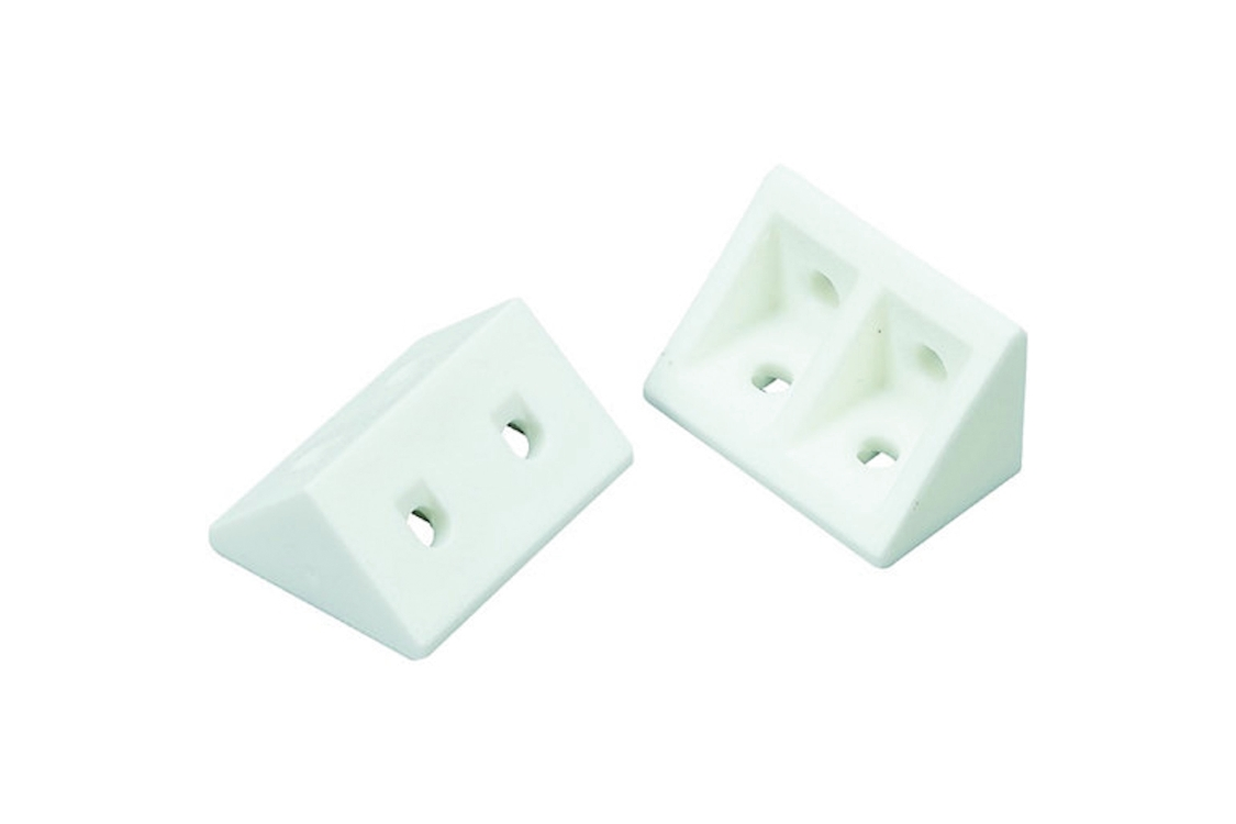 4TRADE Rigid Joint White Pack of 20