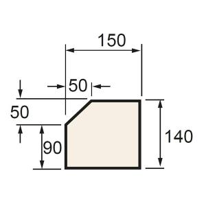 Supreme PL1/BT Plinth Bath 890 x 150 x 140mm