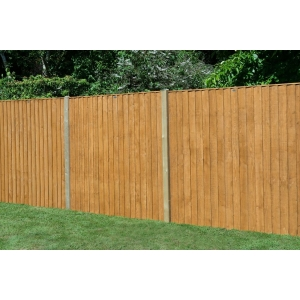 6ft x 5ft (1.83m x 1.54m) Featheredge Fence Panel Pack