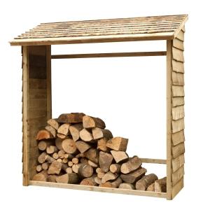 Wall Log Store - Pressure Treated 1950mm x 1830mm x 840mm