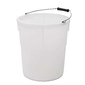 Plasterer's Mixing Bucket White 30L