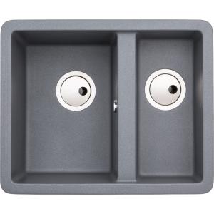 Abode Matrix 1.5 Bowl Undermount Grey Composite Kitchen Sink