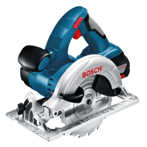 Bosch Gks 18V-LI 18V Circular Saw with 2 x 5.0 Ah Batteries and Charger in A L-BOXX