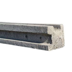 Supreme Concrete Corner Slotted Fence Post 125mm x 125mm x 2440mm SLT244C