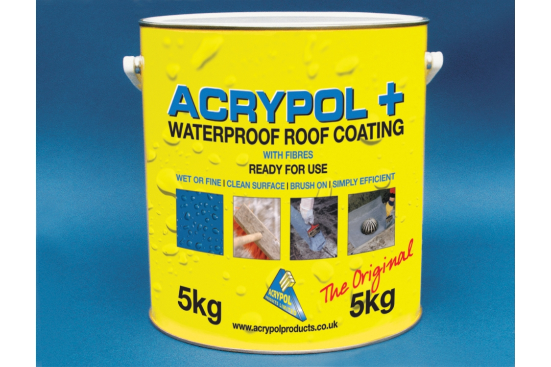 Acrypol + Waterproof Roof Coating 5kg White