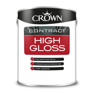 Crown Contract Crown High Gloss Brilliant White 5L