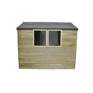 Tongue & Groove Pressure Treated 8x6 Apex Shed