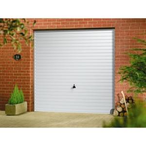 Garador Horizon Type C Steel Up & Over Garage Door White 2134mm x 2438mm