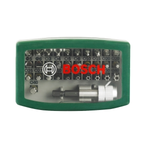 Bosch 32PC Screwdriver Bit Set 2607017063