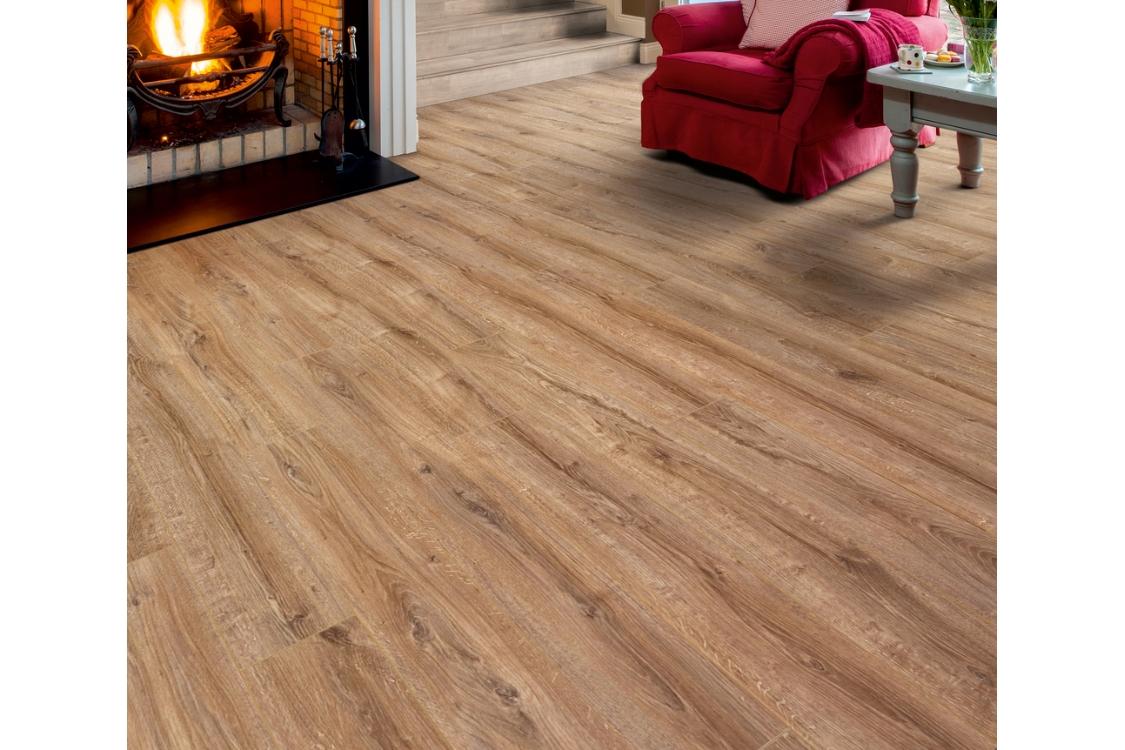 Elka Country Oak 1261 X 192 8mm Pack, Country Living Laminate Flooring