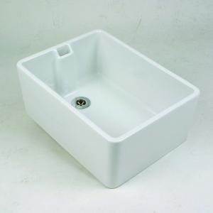 Twyford Belfast Sink 610mm x 455mm Plain FC1271WH