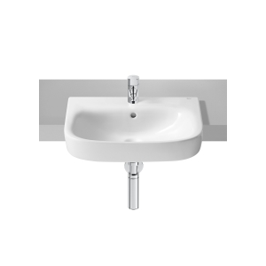 Roca Debba Semi-Recessed Basin 1 Tap Hole 520mm x 400mm 32799S000