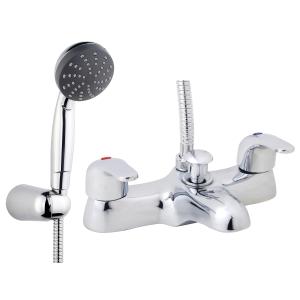 iflo Barcelona Bath Shower Mixer Tap Brass
