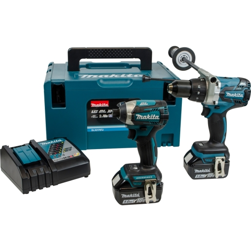 Makita DLX2176TJ Lxt Brushless Twin Pack 18V