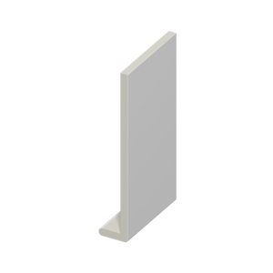 Eurocell Roofline Profile Upvc Capping Board White 250mm X 9mm
