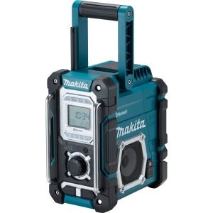 Makita DMR108 Blue Cordless Bluetooth Speaker with Digital Display