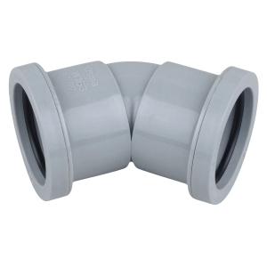 Osma Waste push-fit reducer grey 32x40mm