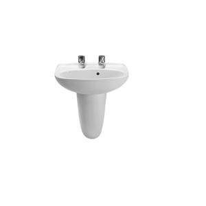 Roca Laura Cloak Basin 2TH 450mm White A325315000
