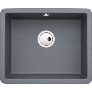Abode Matrix Square 1 Bowl Undermount Grey Composite Kitchen Sink