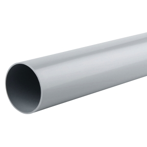 Osma RoundLine 0T086 Pipe 68mm Grey 2.75M
