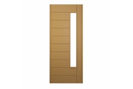 Stockholm Ultimate External Front Oak Veneer Door 1981 mm x 762 mm x 44 mm