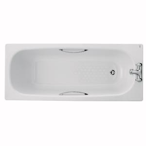 Twyford Celtic Steel Bath White 1500 x 700mm BS1472WH