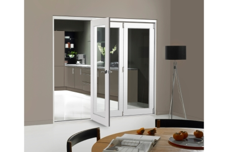 Internal Pre-finished White Door Bifold Room Divider 1790mm wide