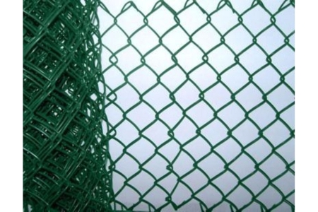 Green Plastic Coated Chainlink Fence 50mm x 900mm x 3.15mm x 25m