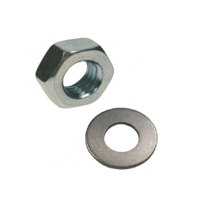 Rawl Nuts & Washers M10 Zinc Plated - Bag of 50