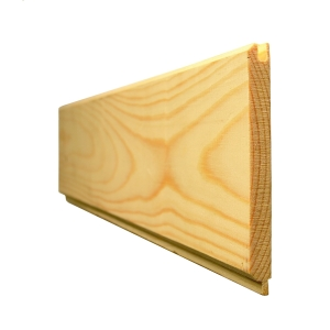 Redwood Tongue and Groove Cladding VJoint Board 19x125 Fin Size 14.5 x 119mm
