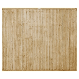 Pressure Treated Closeboard Fence Panel 6ft x 5ft 1.83m x 1.52m Pack 5