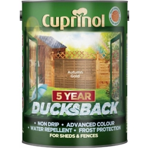 Cuprinol Ducksback Shed + Fence Treatment 5L