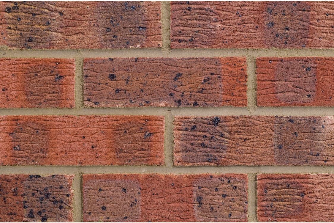 London Brick Company Facing Brick Claydon Red Multi - Pack of 390