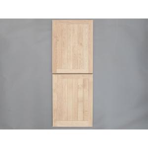 Solid Oak External Door Mexicano Stable External Door Custom size