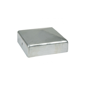 Durapost Fence Cap with Bracket Galvanised 75 x 75mm Home Delivered