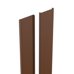 Durapost Classic Cover Strip Sepia Brown 2100mm Home Delivered
